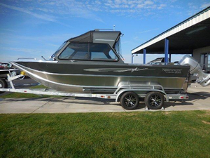 New Northwest Boats 218 Lightning OB w/HT Aluminum Fishing Boat For Sale