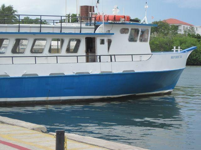 1975 used gulf craft passenger vessel commercial boat for for Gulf craft boats for sale