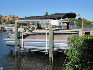Used Bennington 2575 RCWB Saltwater Series Pontoon Boat For Sale