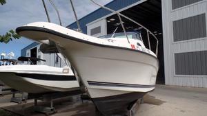Used Sea Swirl 23 STRIPER Walkaround Fishing Boat For Sale