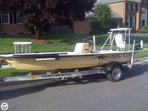 Used Dolphin Super Skiff Pro Flats Fishing Boat For Sale