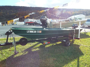 Used Landau 1436 JON Boat For Sale