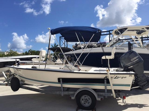 Used Key Largo 18 CC Bay Boat For Sale