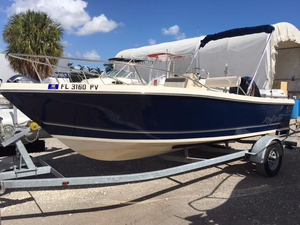 Used Key Largo 1800 Center Console Center Console Fishing Boat For Sale