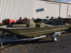 New Lowe Roughneck 1660 Pathfinder Tunnel Jet Sports Fishing Boat For Sale