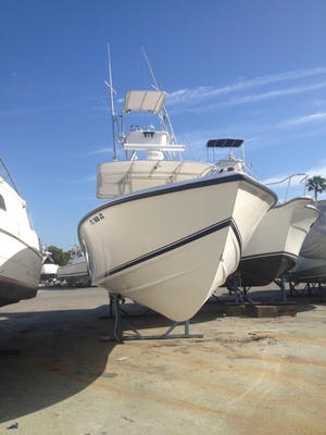 Used Venture 34 Open Saltwater Fishing Boat For Sale