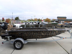 New Excel Boats 1651 SWV4T-G Jon Boat For Sale