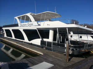 Used Stardust Cruisers 18 X 85 Houseboat House Boat For Sale