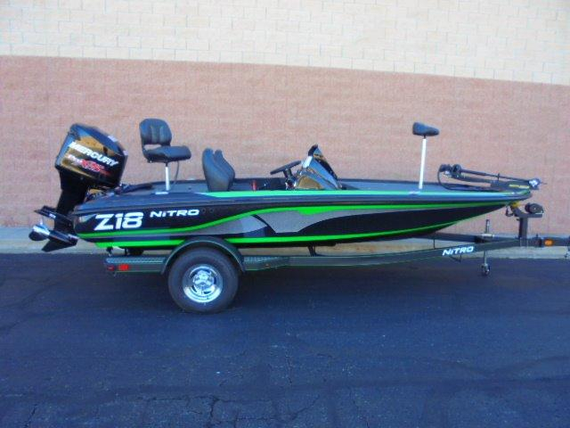 2017 new nitro z18 bass boat for sale -  29 595