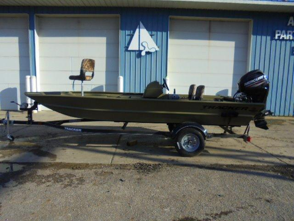 New Tracker Grizzly 1754 MVX SC Aluminum Fishing Boat For Sale