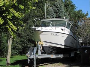 Used Seaswirl Striper Sport Cabin 2600 Sports Fishing Boat For Sale