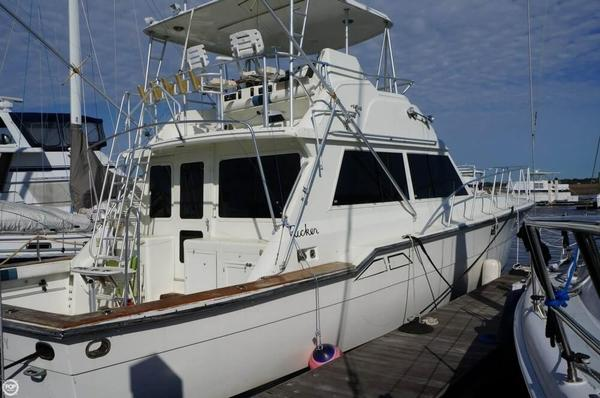 Used Ricker 48 Sport Fish Sports Fishing Boat For Sale
