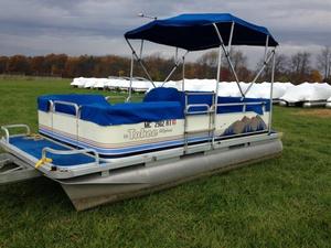 Used Tahoe Pontoons 1622 Alpine Pontoon Boat For Sale