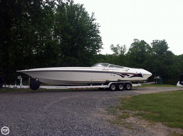 Used Fountain 42 Lighting High Performance Boat For Sale