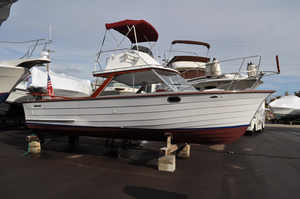 Used Skiff Craft 26 Flybridge Fisherman Antique and Classic Boat For Sale