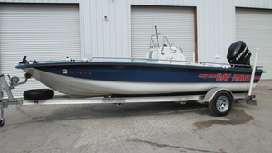 Used Bay Hawk 204 Center Console Fishing Boat For Sale