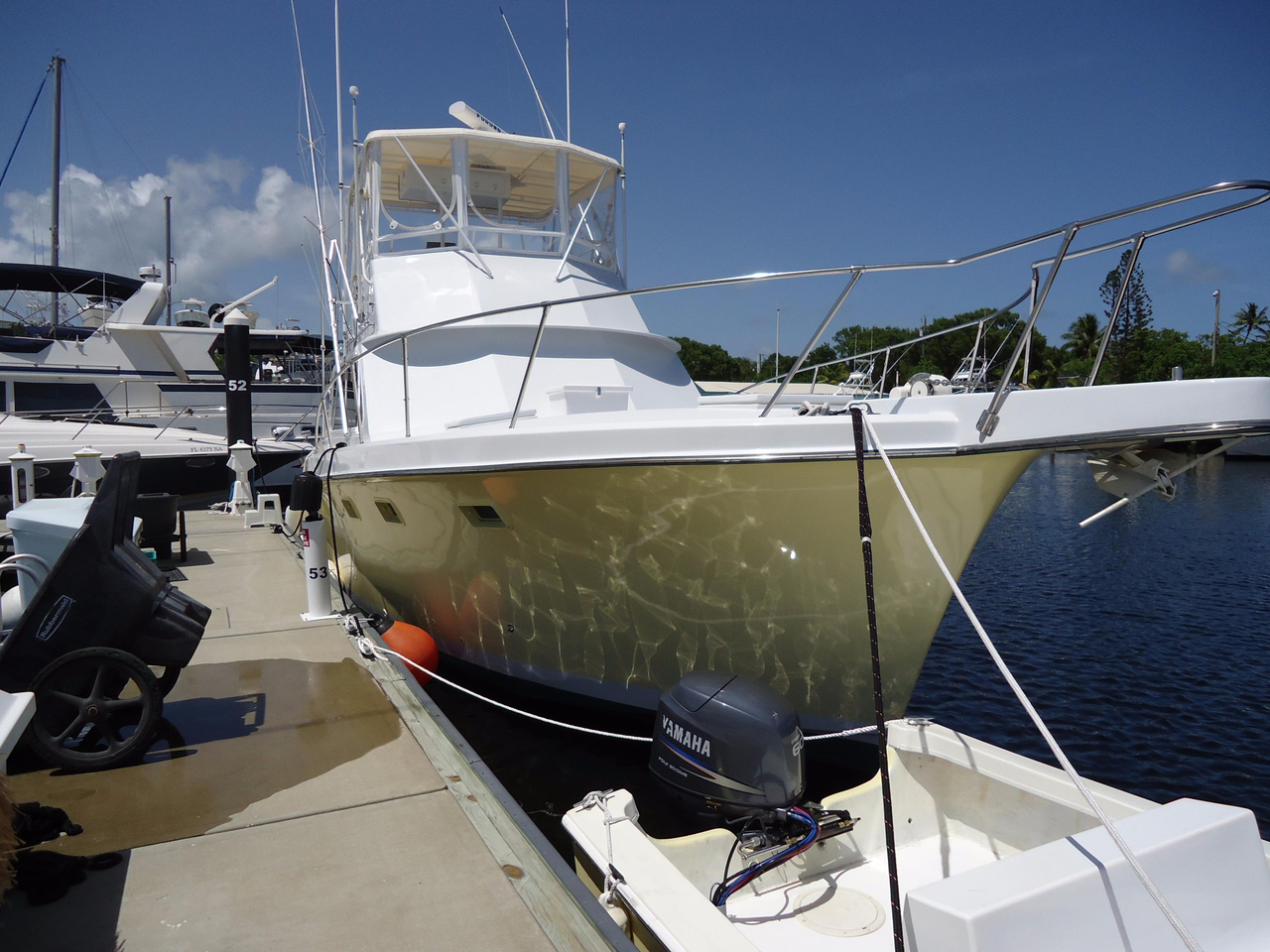 1968 used hatteras 41 convertible fishing boat for sale for Hatteras fishing boat