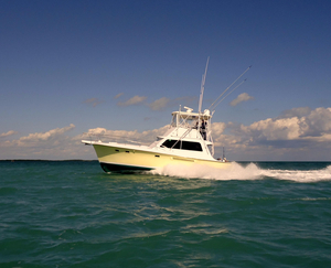 Used Hatteras 41 Convertible Cummins 450C's Convertible Fishing Boat For Sale