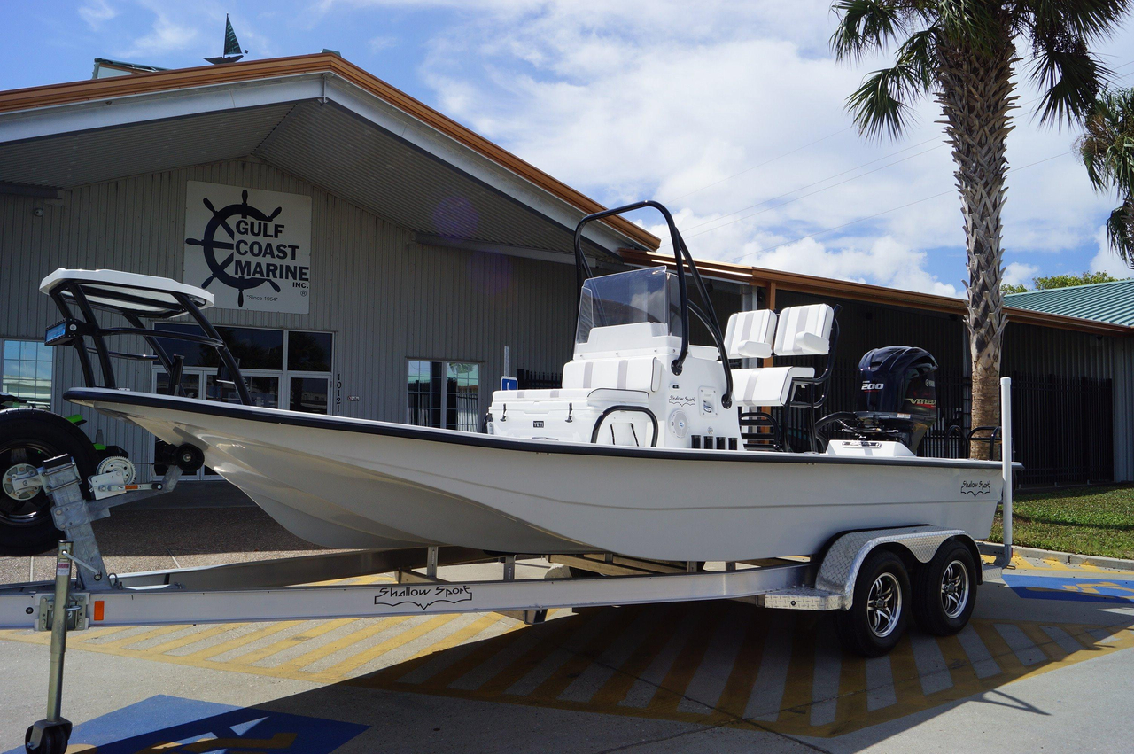 2017 new shallow sport 21 sport flats fishing boat for for Fishing boats for sale in texas