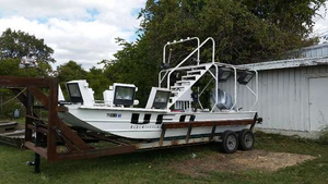 Used Alumaweld Jon Boat For Sale