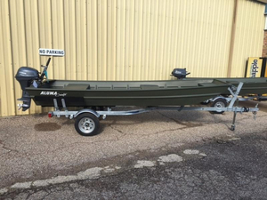 New Alumacraft 1436 LT Jon Boat For Sale