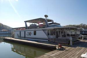 Used Lakeview Houseboat 16 X 69 House Boat For Sale