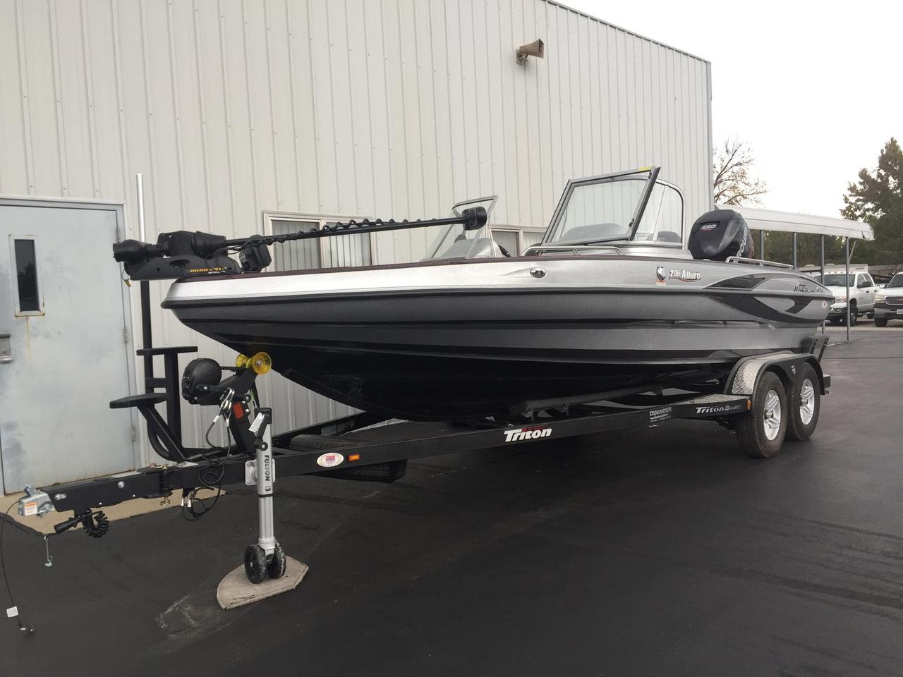 2017 new triton boats 206 allure ski and fish boat for for Fish and ski boats for sale