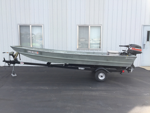 Used Monark 1436 Center Console Fishing Boat For Sale