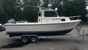 Used Parker Pilothouse Boat For Sale