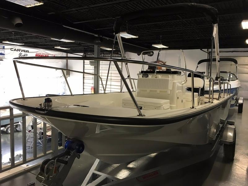 2017 new boston whaler 170 montauk center console fishing for Fishing boat dealers near me