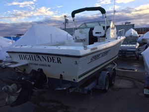 Used Sportcraft 252 FISHMASTER WA Walkaround Fishing Boat For Sale