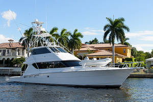 Used Hatteras 70 Eb Sportfihs W/tower Convertible Fishing Boat For Sale