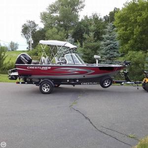 Used Crestliner Raptor 1850 WT Aluminum Fishing Boat For Sale