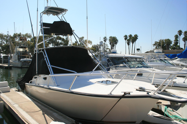 Used Albemarle 280 Express Fisherman W/ Yanmars And Tower Saltwater Fishing Boat For Sale